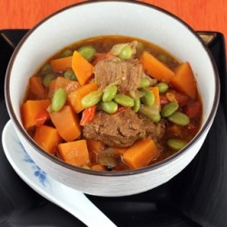 Pork Stew with Miso