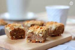 Pretzel Peanut Butter Pecan Potato Chip Blondies Bars Recipe