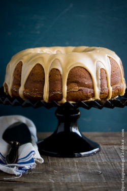 Pumpkin-Cream Cheese Bundt Cake