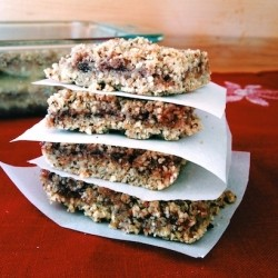 Raspberry Oat Crumbles Recipe