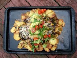 Roasted Potato Nachos