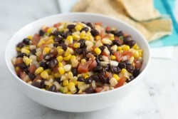 Smoky Corn Salad with Black Beans