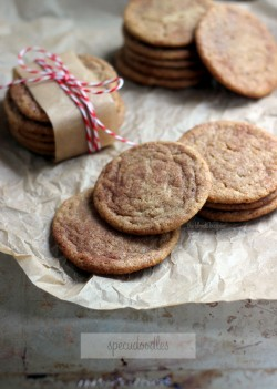 Speculoos Snickerdoodles Cookies Recipe