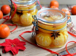 Spiced Brandy Soused Clementines