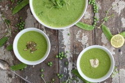 Spring Green Pea Soup