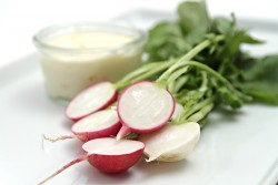 Spring Radishes with Butter