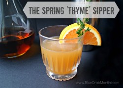 Spring Thyme Sipper