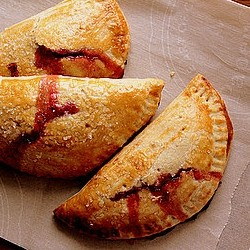 Strawberry Hand Pies with Basil and Honey