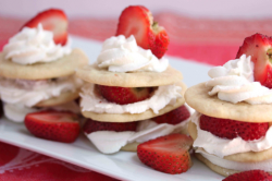 Strawberry Shortcake Stacks