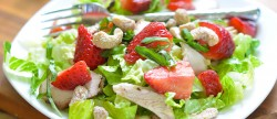 Strawberry Thai Chicken Salad