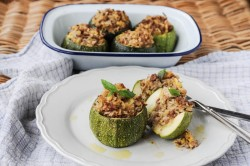 Stuffed Globe Zuchinni