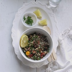 Tabbouleh with Brown Chickpeas Recipe