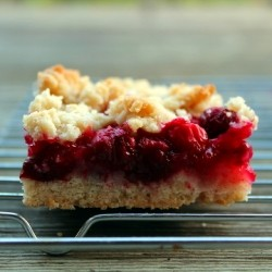 Tart Lemon Cranberry Squares Recipe