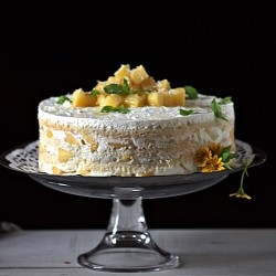 Tres Leches Mango Cream Cake Recipe