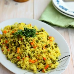 Vegetable Pilaf/ Vegetable Pulav