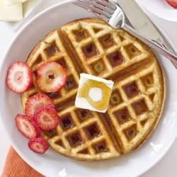 Weekend Buttermilk Waffles