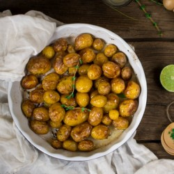 Baby Potatoes with Thyme