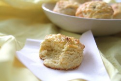 Bacon Fat, Cheddar, Chive Biscuits
