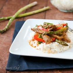 Beef Asparagus Curry