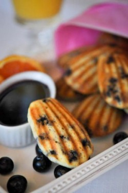 Blueberry Ricotta Pancake Dippers