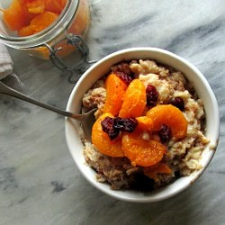 Caramelized Clementine Oatmeal