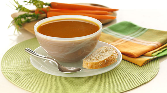 Caramelized Onion Carrot Soup Recipe