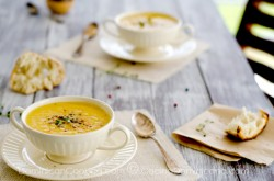 Celeriac and Ginger Soup