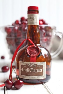 Cherry Crumble with Grand Marnier