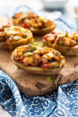 Chicken Fajita Potato Skins