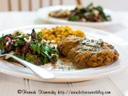 Chicken-Fried Portobello Steak