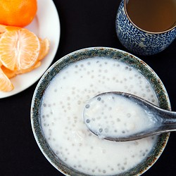 Chinese Taro and Tapioca Sweet Soup