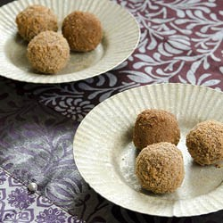 Chocolate and Chestnut Truffles