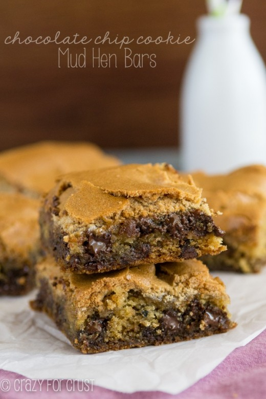 Chocolate Chip Cookie Mud Hen Bars recipes - Social Cooking Engine