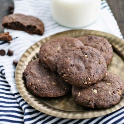 Chocolate Cocoa Walnut Cookies Recipes