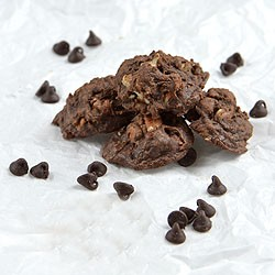 Chocolate Fudge Candy Cookies