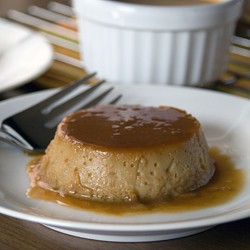 Coconut Maple Flan