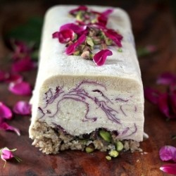 Coconut Rose Semifreddo Recipe