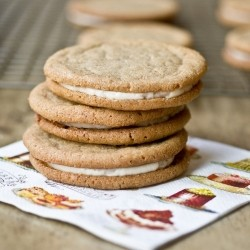 Cookie Butter Salted Caramel Sandwich Cookies Recipe