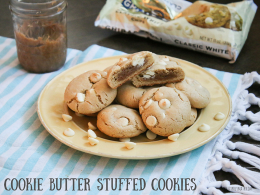 Cookie Butter Stuffed Cookies