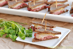 Corned Beef Triangles