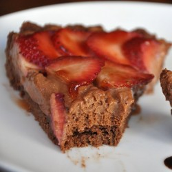 Double Chocolate Strawberry Tart