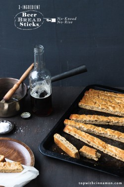 Easy Beer Bread Sticks