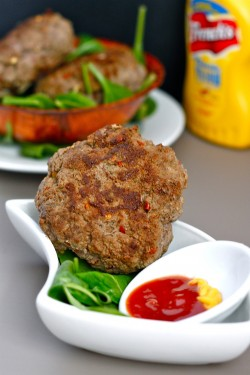 Easy Lean Curry Burgers