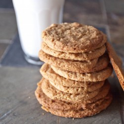 Egg-less Peanut Butter Cookies
