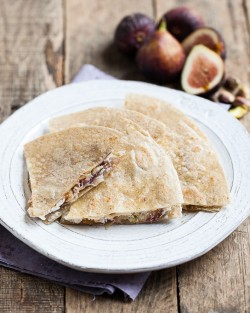 Fig and Goat Cheese Quesadillas