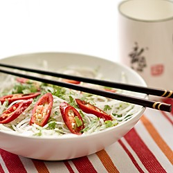 Glass Noodles with Chili