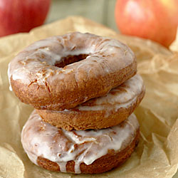 Glazed Apple Cider Doughnuts