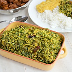 Green Cabbage Mellun Curry
