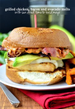 Grilled Chicken, Bacon and Avocado