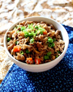 Ground Turkey Fried Rice
